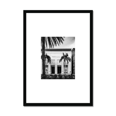 Tom Ford store Framed Print