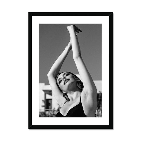 Fashion shoot  Framed Print