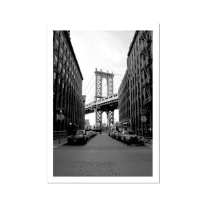 Streets of Brooklyn Fine Art Print