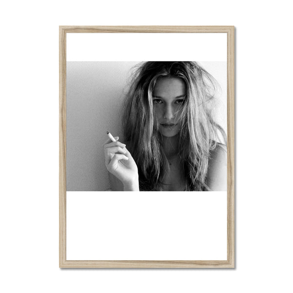 Smoking hot Framed Print