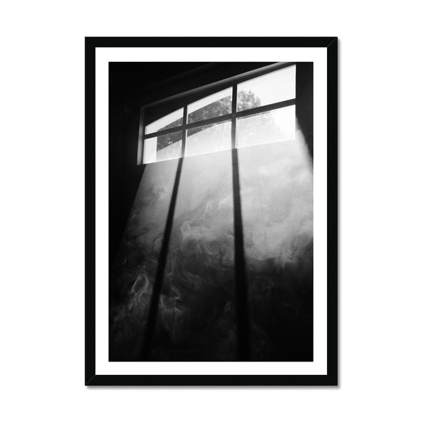 Smokey window Framed Print
