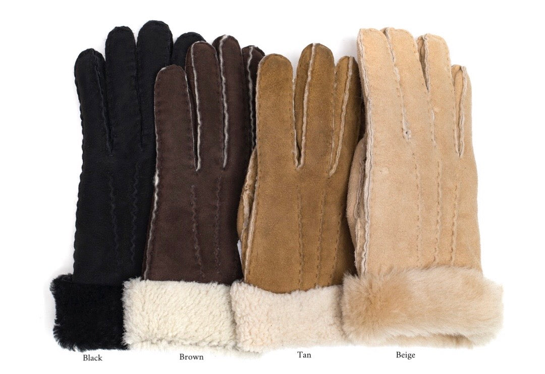 Gloves Sheepskin BLACK