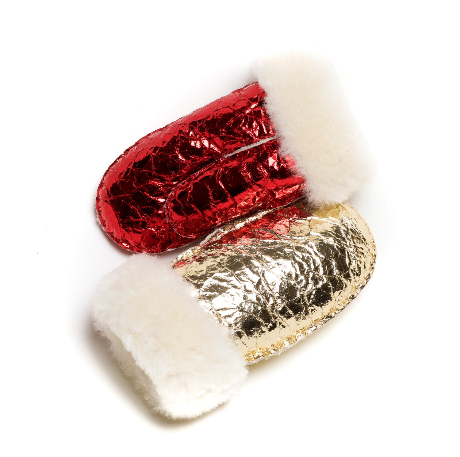 Mittens Kids Goldleaf Red