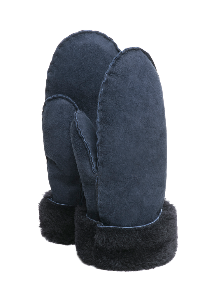 Mittens Adults Navy