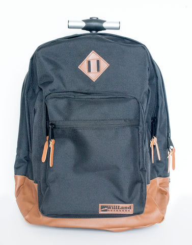 WillLand Outdoors College Luminosa Forte Freedom Backpack on Wheels
