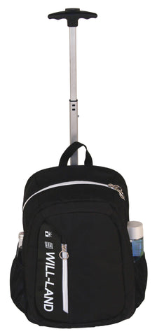WillLand Outdoors Easy Transit Backpack on Wheels