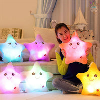 Christmas LED Light Pillow
