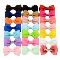 20 Piece Colorful Bowknot Hairgrip SET