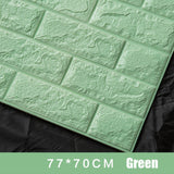 70x77cm PE Foam 3D Wall  Safety Sticker (Thermal, Shock and Noise Absorbing Foam)