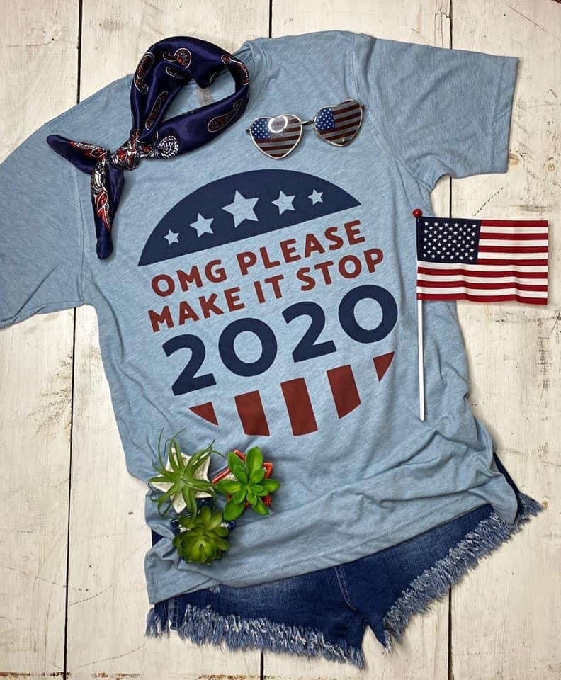 Make it Stop 2020 tee - Arrows, Bows & Lil Toes