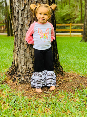 Girls' Aztec Bell Bottoms - Arrows, Bows & Lil Toes