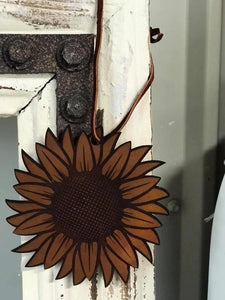Sunflower Leather Fresheners - Arrows, Bows & Lil Toes
