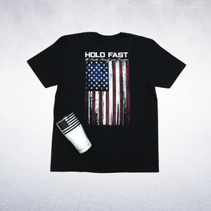 American Flag Hold Fast Tee