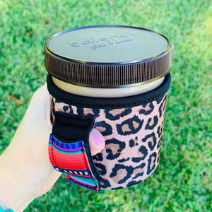 Leopard & Serape Ice Cream Holder - Arrows, Bows & Lil Toes