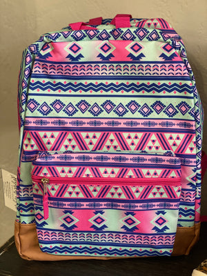 Aztec Backpack - Arrows, Bows & Lil Toes
