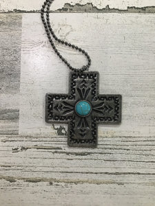 Haven Metal Cross Necklace