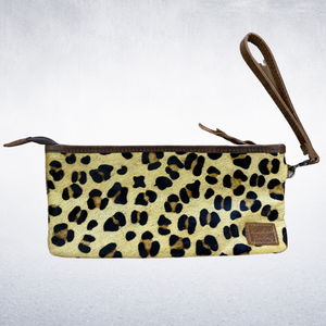 Genuine Hide Wristlet