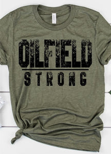 Oilfield Strong tee - Arrows, Bows & Lil Toes