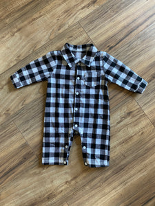 Baby Buffalo Check Outfit