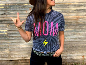 Lightning Mom tee - Arrows, Bows & Lil Toes