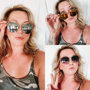 Aviator sunglasses - Arrows, Bows & Lil Toes