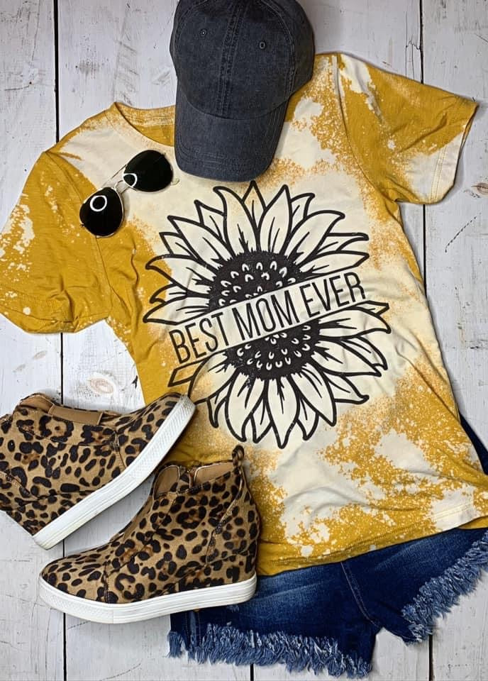 Sunflower Mom tee - Arrows, Bows & Lil Toes