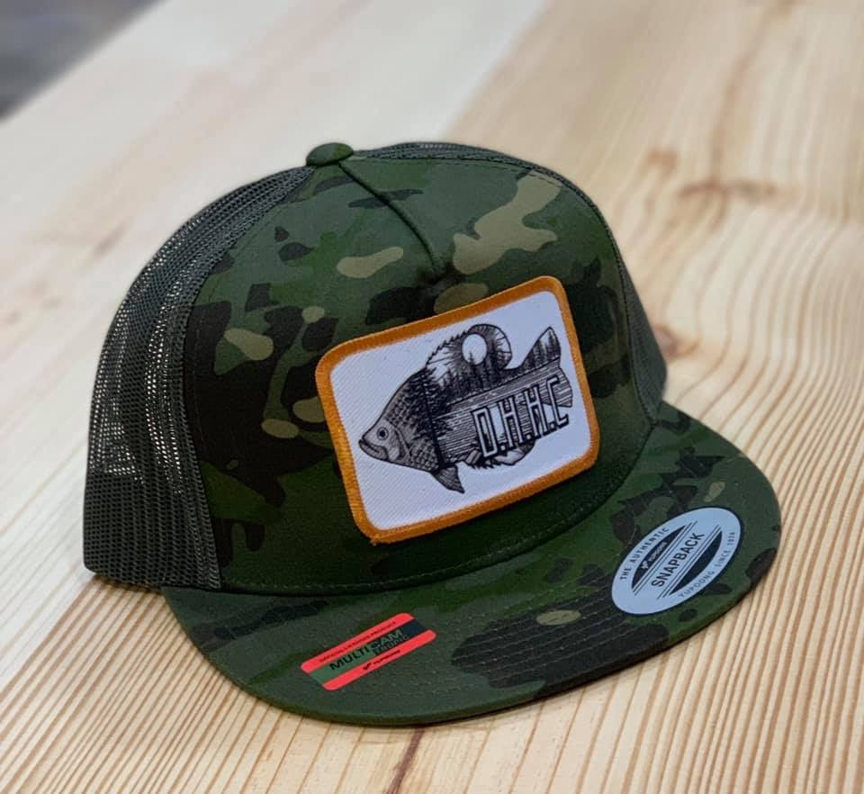 Camo perch cap - Arrows, Bows & Lil Toes