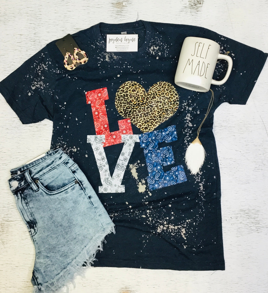 American Love Tee - Arrows, Bows & Lil Toes