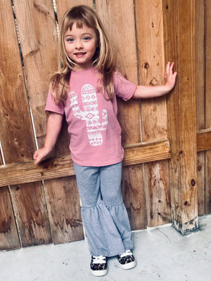 Girls cactus tees - Arrows, Bows & Lil Toes