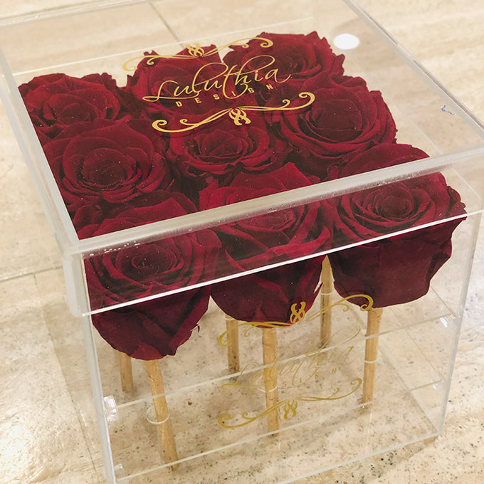 ETERNAL ROSES IN ACRYLIC BOX - 9