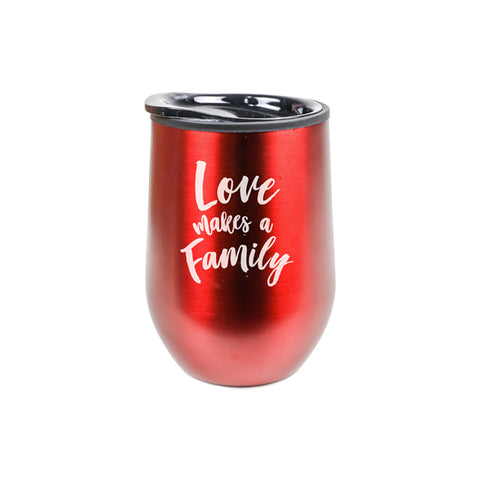 Love Makes A Family Tumbler