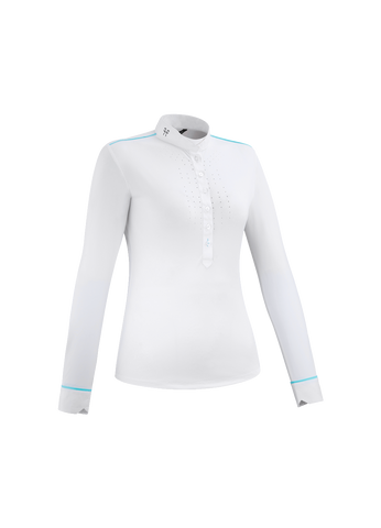 HORSE PILOT AEROLIGHT LONG SLEEVE WHITE