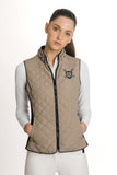 HORSEWARE HERITAGE SLEEVELESS JACKET TAN