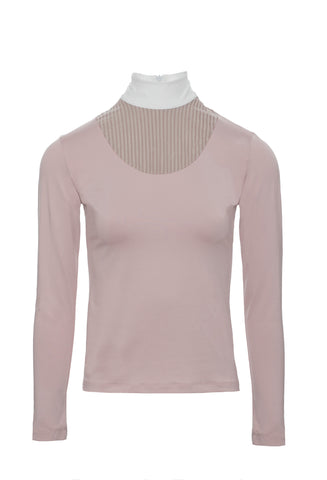 HORSEWARE LISA TECHNICAL COMPETITION SHIRT BLUSH