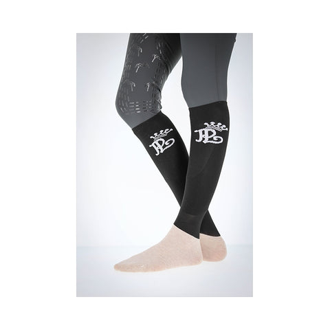 PÉNÉLOPE RIDING SOCKS - BLACK