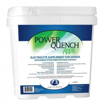 STRICTLY EQUINE POWER QUENCH, APPLE, 4.54 KG