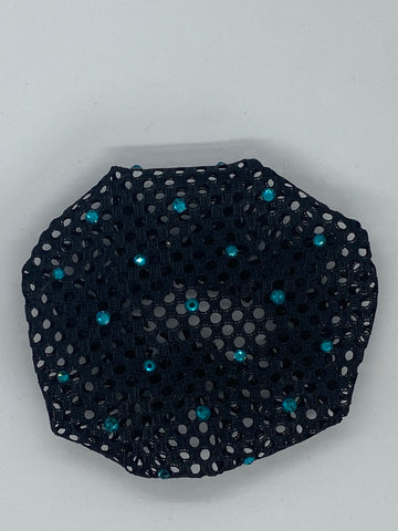 BUN NET WITH SWAROVSKI 2