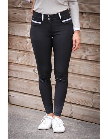 PÉNÉLOPE FUN BREECHES - BLACK