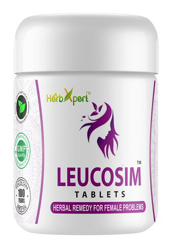 Leucosim, Simla Pharmacy, Herbxpert, Leucorrhea, Female Problems, Backpain in Periods, Unani, Herbal Remedy