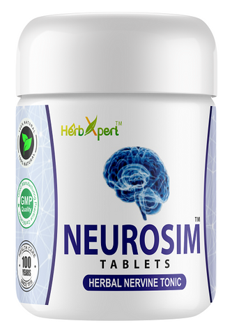 Neurosim, Simla Pharmacy, Herbxpert, Herbal Nervine Tonic, Memory Booster, Herbal Remedy, Herbal Brain Tonic, Unani, Herbal