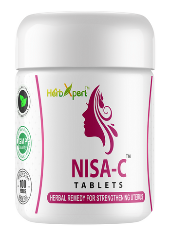 Nisa C, Simla Pharmacy, Herbxpert, Uterine Muscles, Over Bleeding, Leucorrhea, Herbal Remedy, Unani