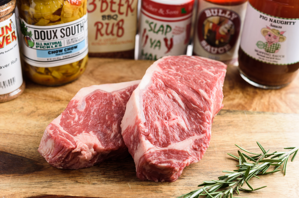 Cajun Cleaver Prime NY Strip (2-16 oz)