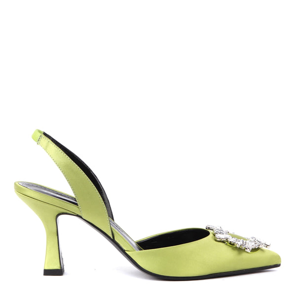 Lime Green Ilary Sandals