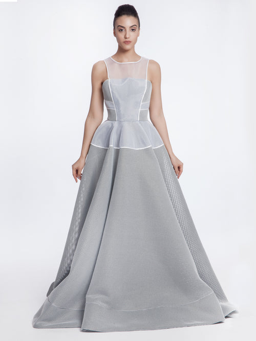 Grey Trail Dress, AVARO FIGLIO - elilhaam.com