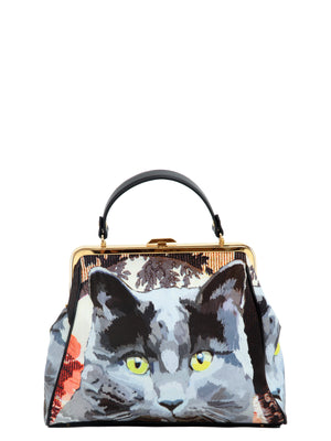 Gatto Top Canvas Bag, LEITMOTIV - elilhaam.com