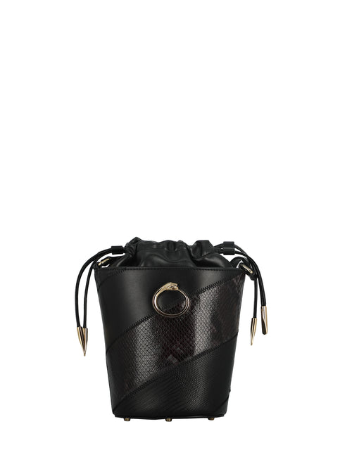 Python Print Black Bucket Bag