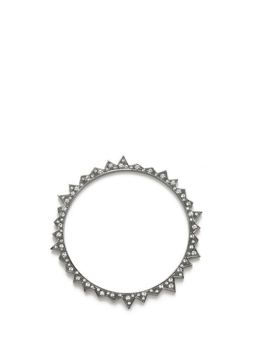 Starburst Bangle  Gunmetal, CC SKYE - elilhaam.com
