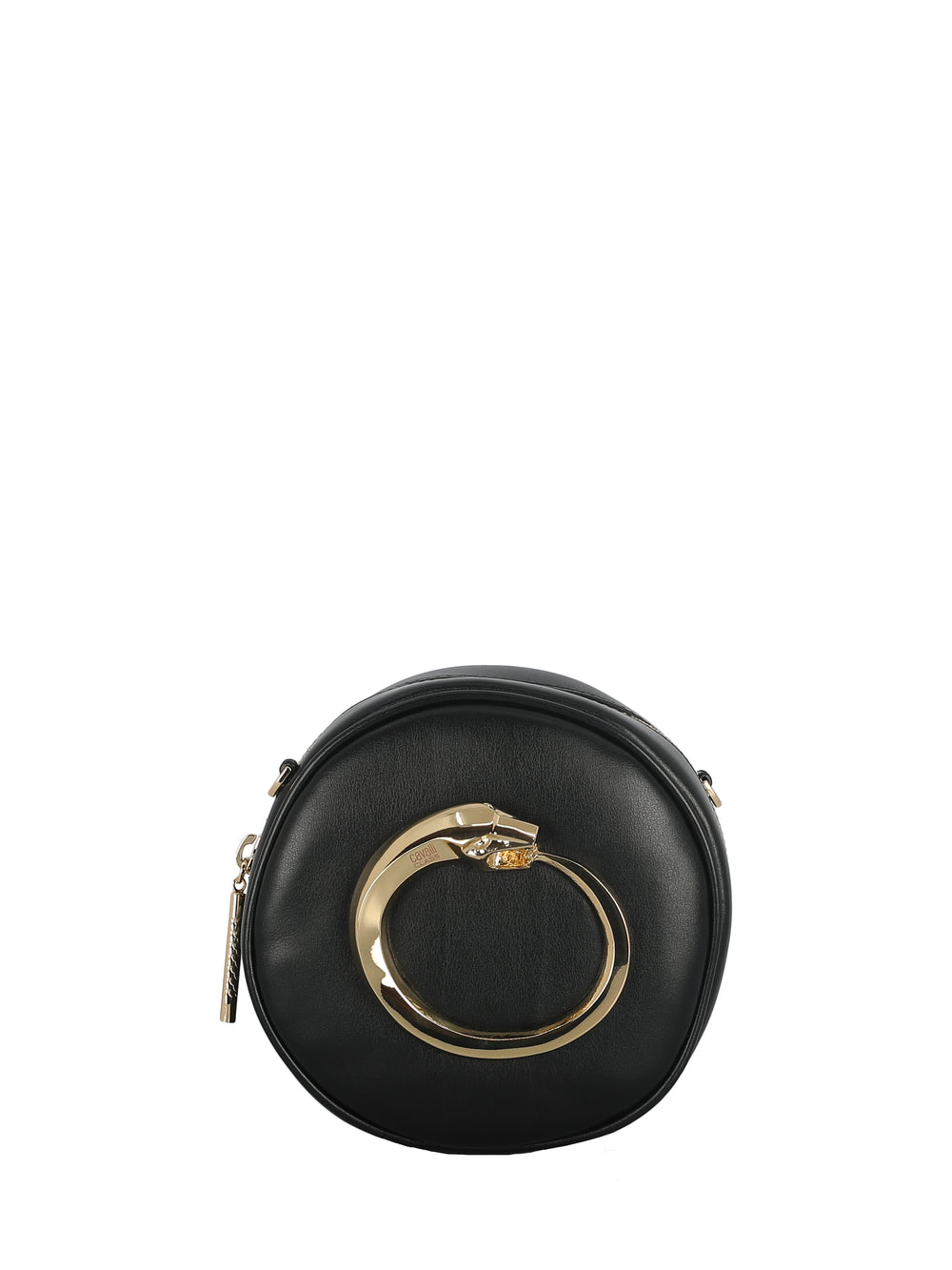 Round Studded-Leather Bag