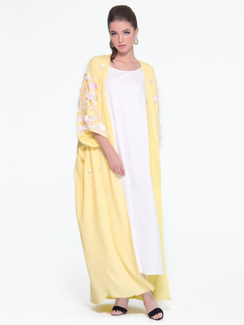 Bisht Cut Jalabiya, MOONOIR - elilhaam.com