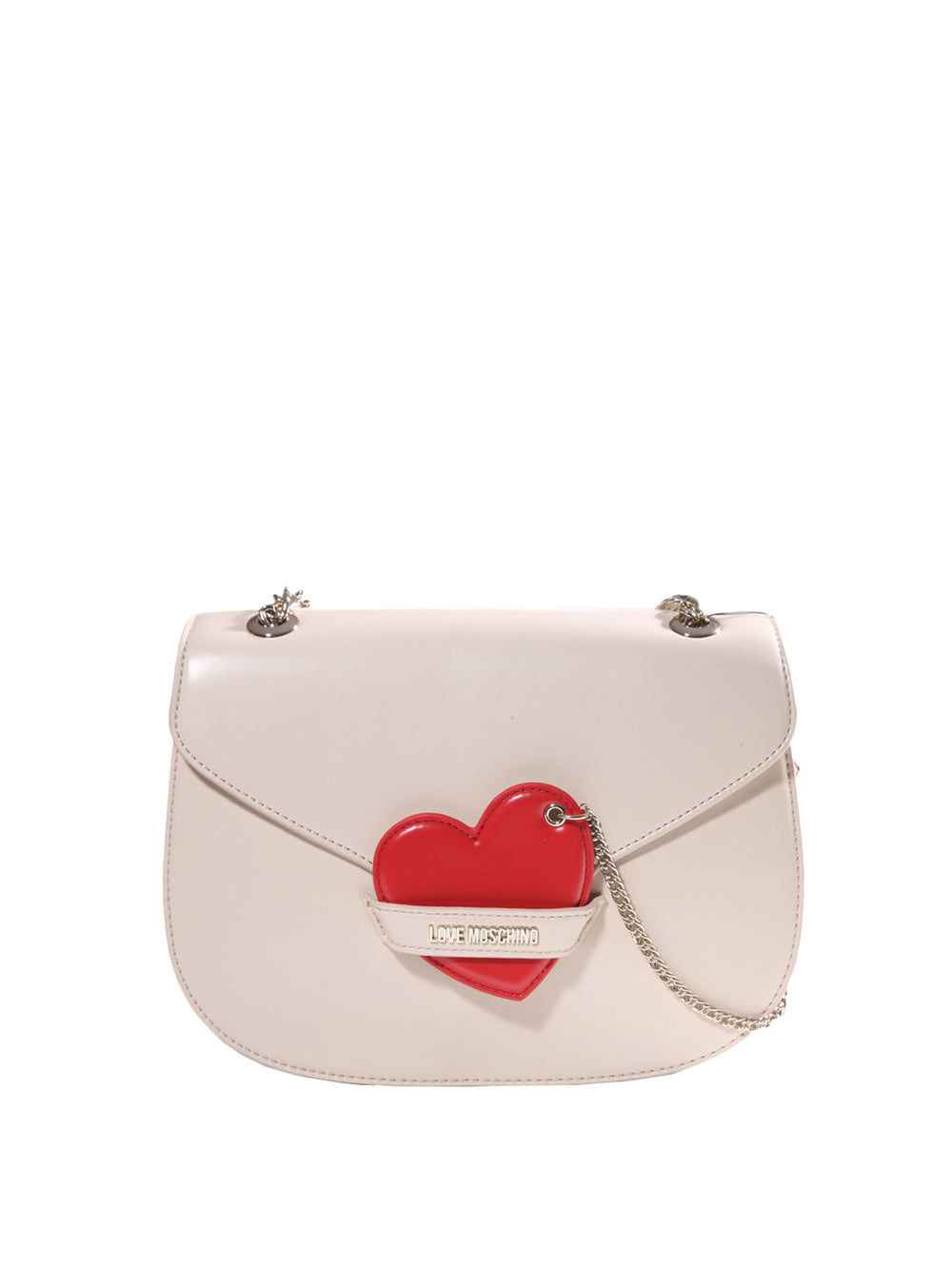 Satin Argento Bag, LOVE MOSCHINO - elilhaam.com